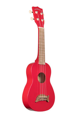 Makala MK-SD/CAR Dolphin Candy Apple Red Soprano Ukulele