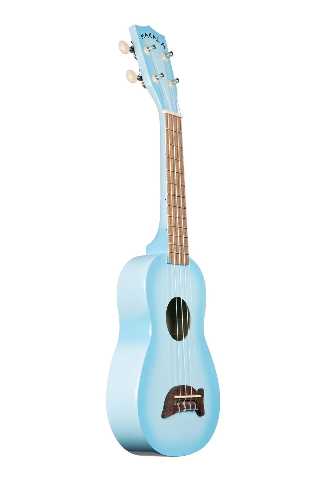 Makala MK-SD/LBLBRST Dolphin Light Blue Burst Gloss Soprano Ukulele