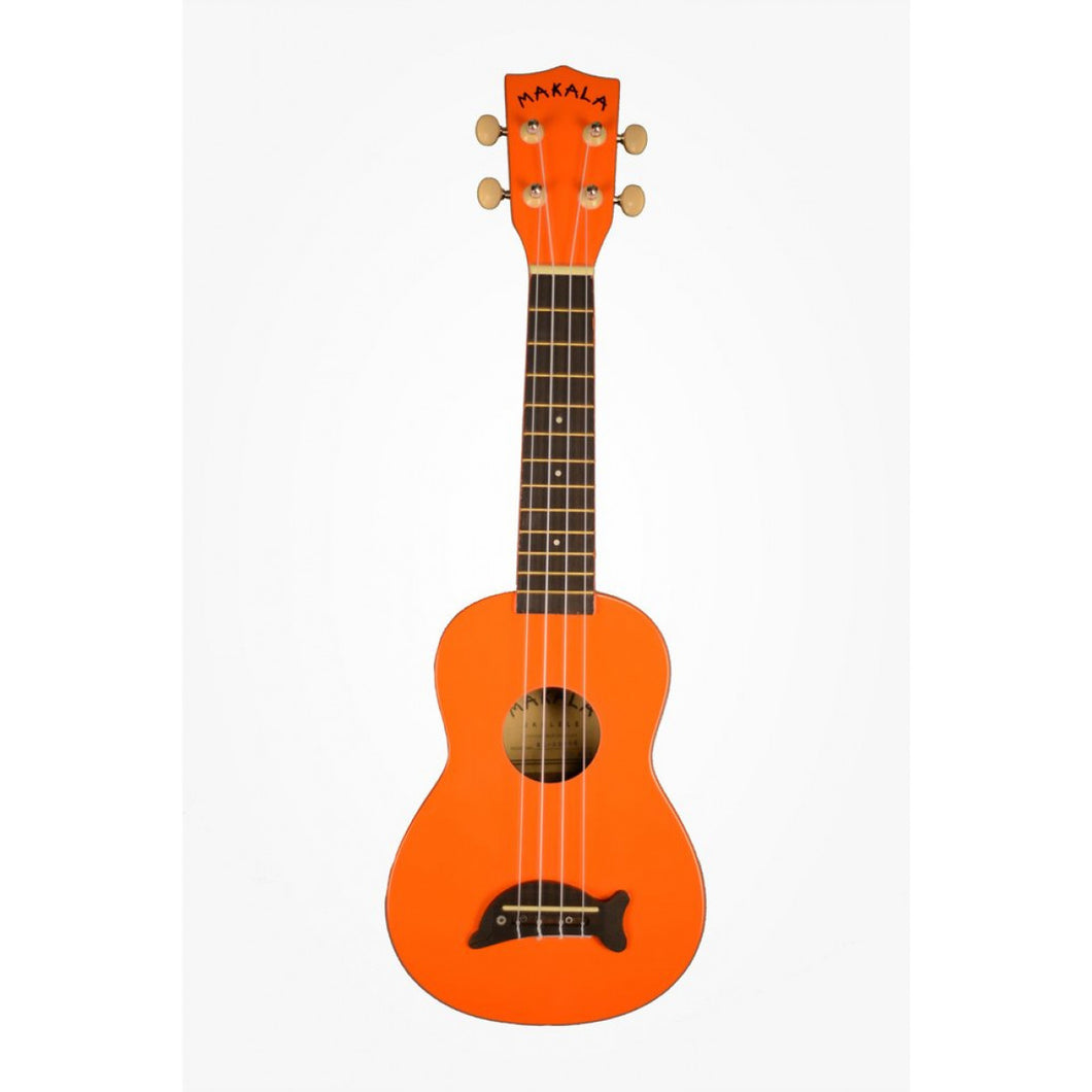 Makala MK-SD/OR Dolphin Orange Soprano Ukulele
