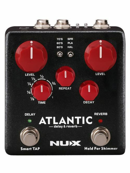 NUX Verdugo Series Atlantic Multi Delay & Reverb Effects Pedal