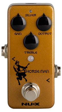 NUX NXNOD1 Mini Core Series Horseman Overdrive Pedal Two in One Overdrive Pedal