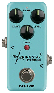 NUX NOD3 Morning Star Overdrive Pedal