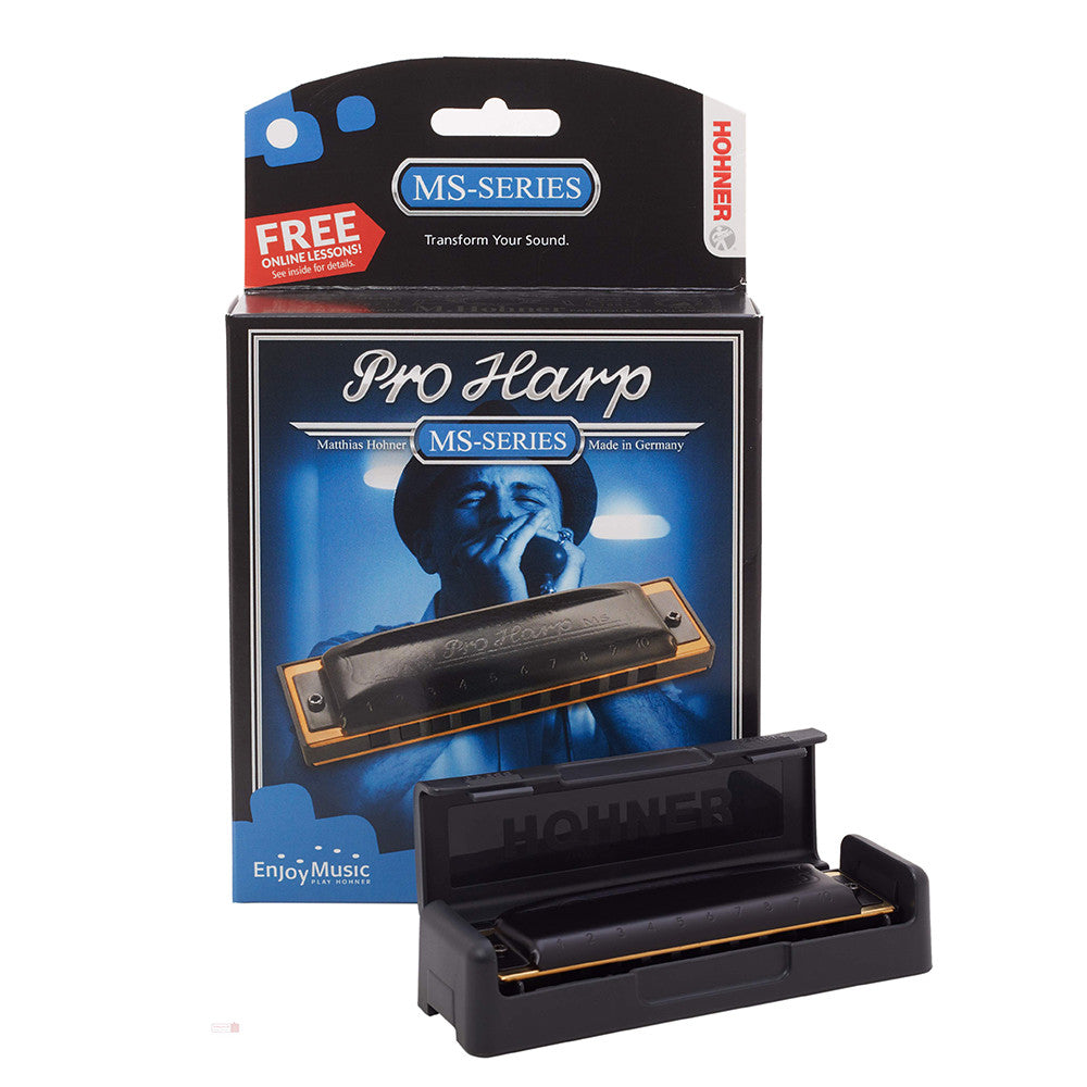 Hohner Pro Harp Harmonica in the Key of C
