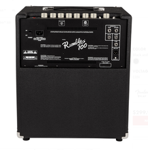 Load image into Gallery viewer, Fender Rumble 100 (V3) Bass Amp 240V Aus Black/Silver