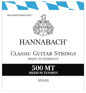 Hannabach 500MT Medium Tension Nylon Strings