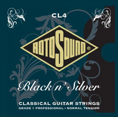 Rotosound RCL4 Black/Silver Classical Guitar Strings