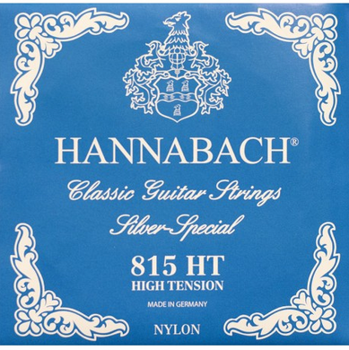 HANNABACH E815 HT CLASSICAL SET-SILVER SPECIAL - BLUE HIGH TENSION