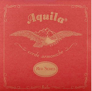 AQUILA RED SERIES REGULAR CONCERT UKULELE STRING SET