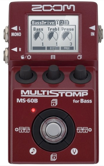 Zoom MS-60B MultiStomp Bass Pedal