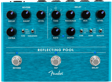 FENDER REFLECTING POOL® DELAY & REVERB