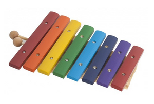 Mano Percussion UE806 8 note colored xylophone