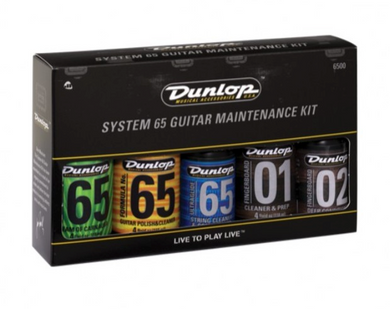 Jim Dunlop System 65 Complete Guitar Maintenance Kit Gift Pack