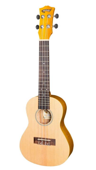 Mojo 'SA30 Series' Spruce Top and Acacia Back & Sides Concert Ukulele (Natural Satin)