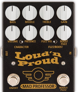 Mad Professor Amplification Loud 'n Proud Vintage Marshall Style Overdrive w/ Boost/Fuzz