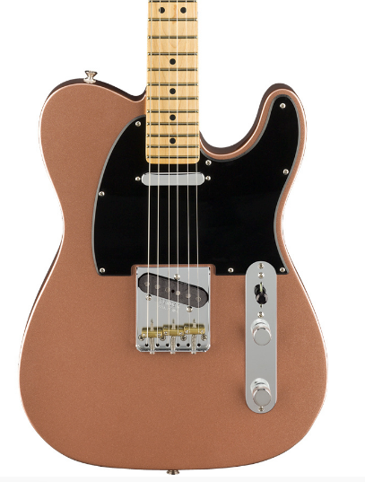 Fender American Performer Telecaster in Penny.