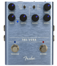 Load image into Gallery viewer, Fender Tre-Verb effects Pedal
