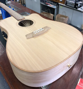 Cole Clark Fat Lady 2 Bunya Top European Maple Back and Sides