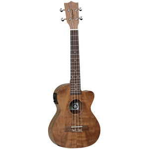 Tanglewood TUT15E Tiare Tenor Uke w/ Pickup Pacific Walnut With Bag