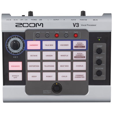 Zoom V3 Vocal Effect Processor