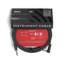 Load image into Gallery viewer, D'addario (Planet Waves) American Stage Instrument Cable - 10ft 1x RA Jack