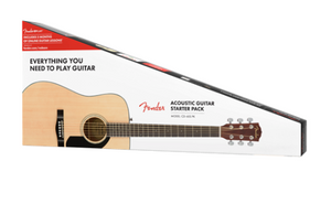 FENDER CD60S V2 ACOUSTIC GUITAR PACK