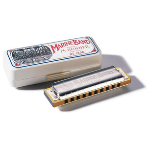 Hohner Marine Band Harmonica in the Key of C