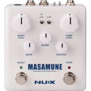 NU-X Masamune Boost & Compressor Effects Pedal