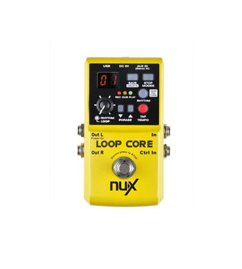 Nu-X NUX Loop Core Looper FX Pedal with 4GB of Memory