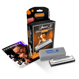 Hohner Special 20 Harmonica in the Key of F# new pack