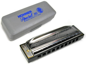 Hohner Special 20 Harmonica in the Key of G small pack