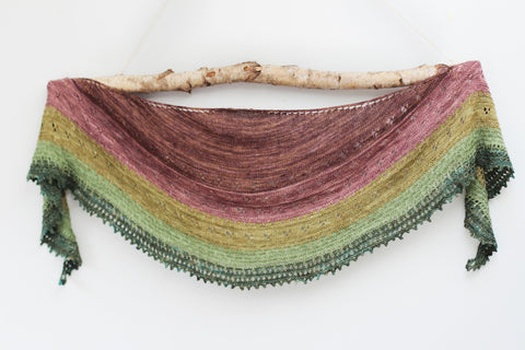 Field Notes: Celebrate five years of Titus with our Hunhdred Acre Wood shawl make-a-long