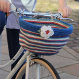 Wickerton bicycle basket