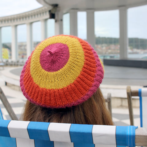 Stormy Sunset Hat