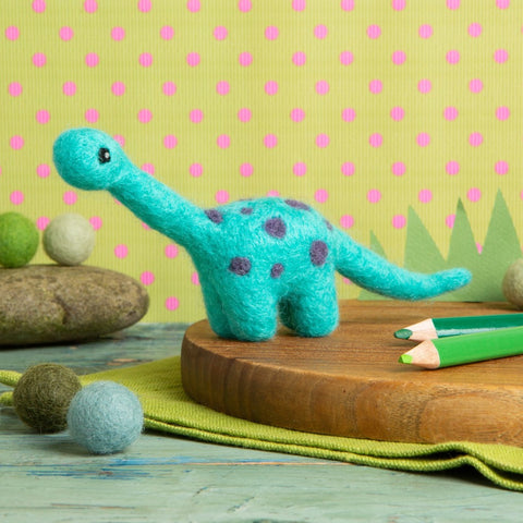 Diplodocus needle felting kit