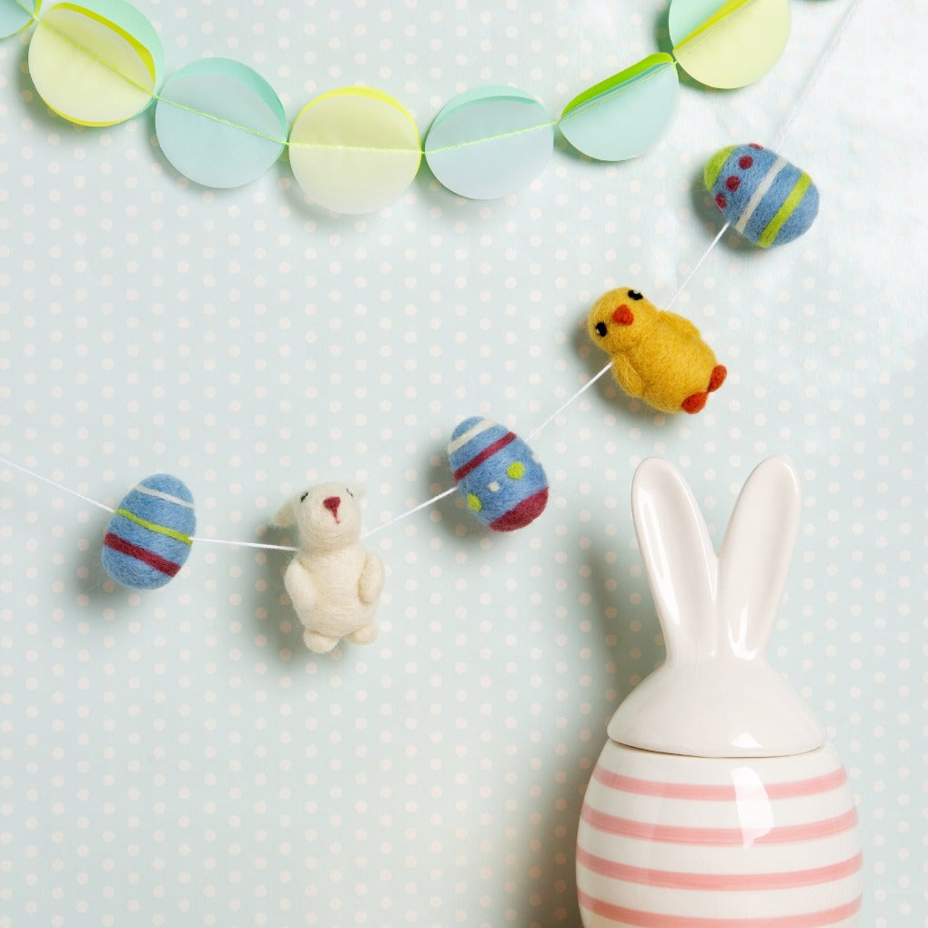 Easter Garland needle felting kit