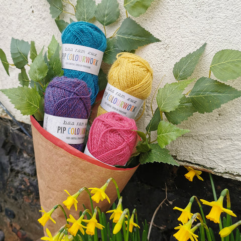 Pip Colourwork Bouquet