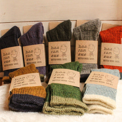 British Wool Socks