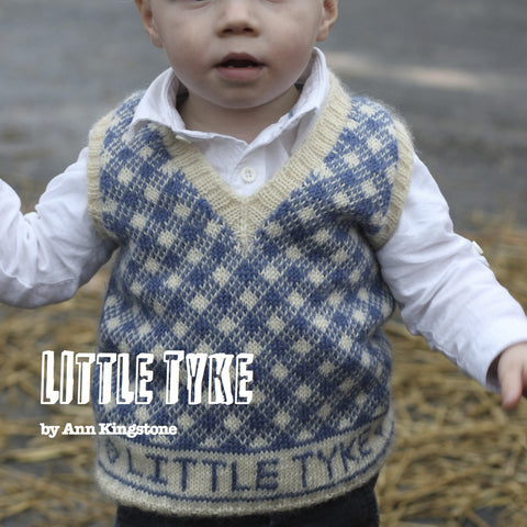 Ann Kingstone - Little Tyke pattern booklet