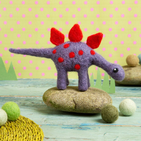 Stegasaurus needle felting kit