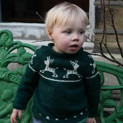 Susan Crawford - Junior Christmas Cardigan