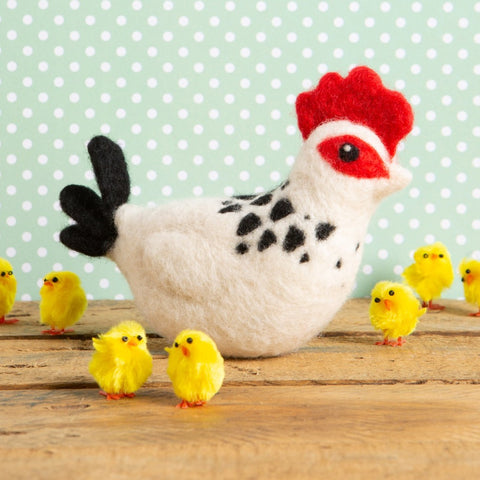 Sussex Chicken needle felting kit