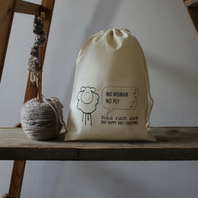 baa ram ewe Project Bag