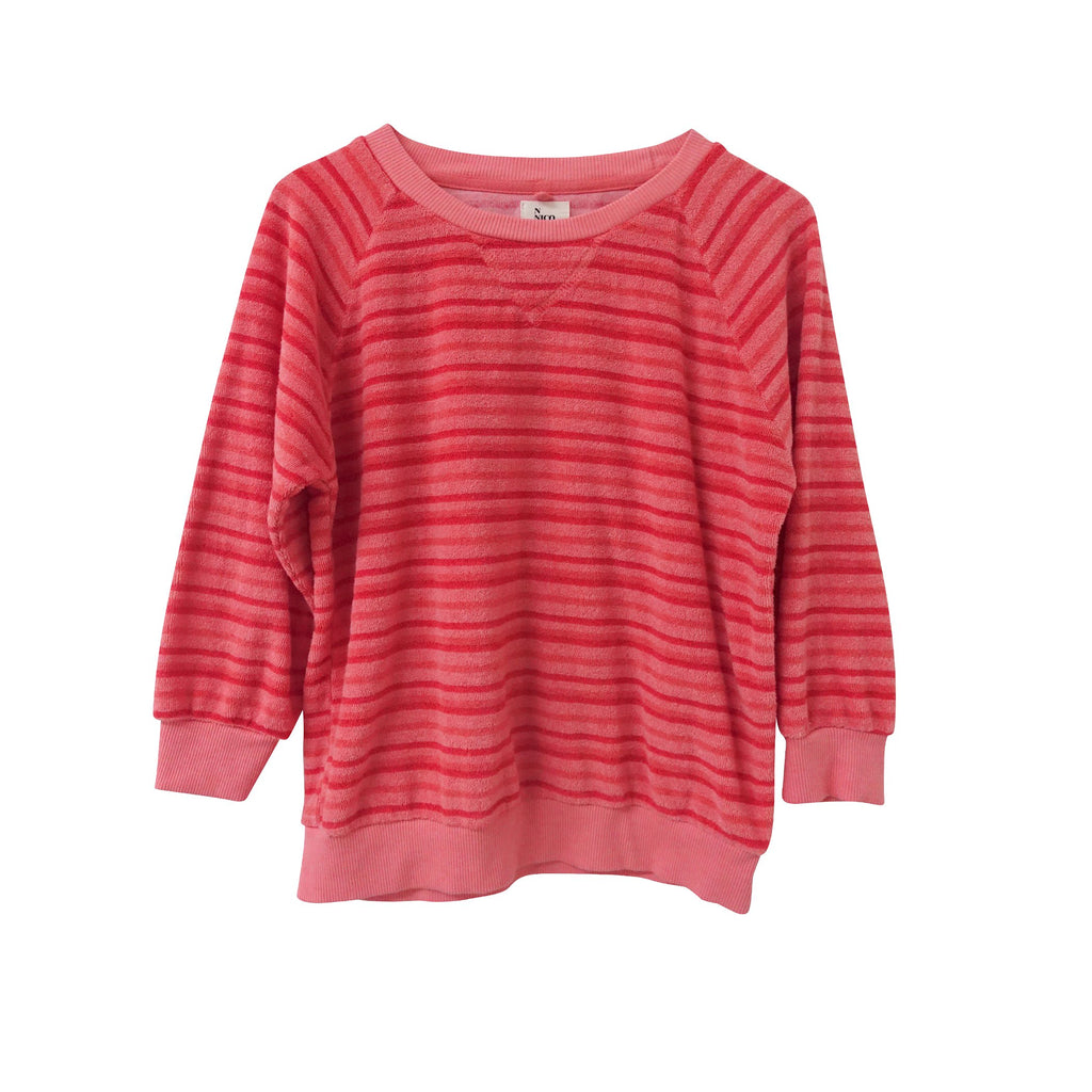 Andros Pullover Striped Terry