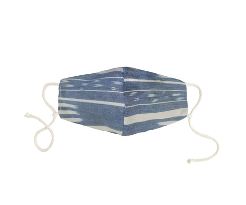 Blue Ikat Mask