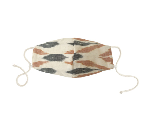 Brown Ikat Mask