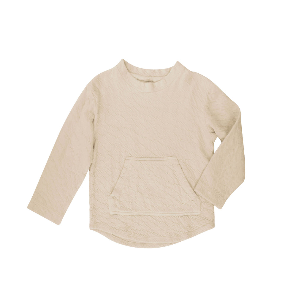 Clear Long Sleeve Pullover