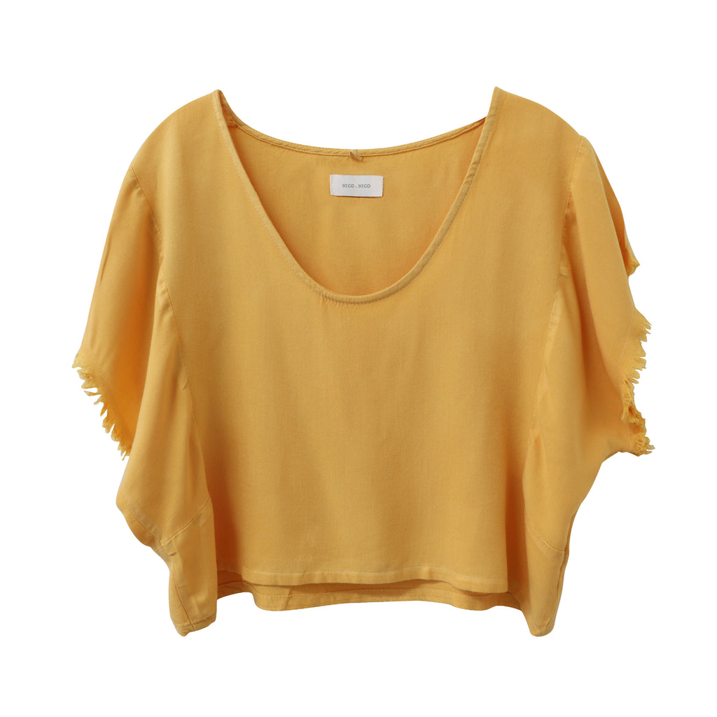 Griffith Crop Top - Rayon