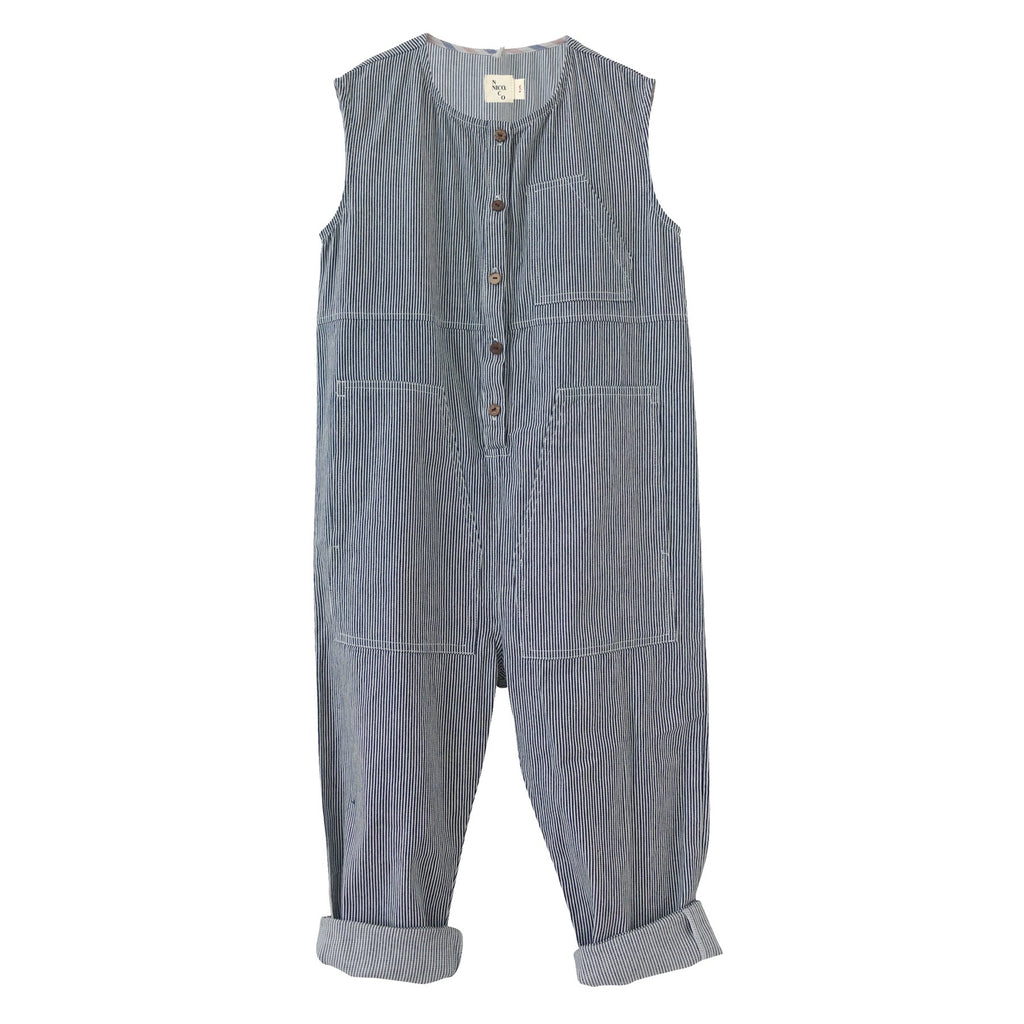 Harlowe Railroad Jumpsuit