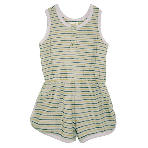 Jayne Striped Runner Romper