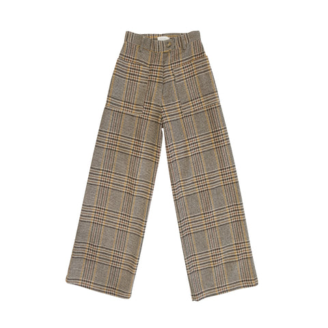 Kenji Plaid Two-Pocket Pant